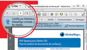 pdf certifié
