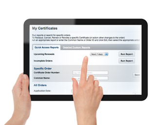 iPad with MSSL account